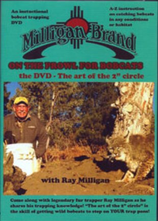On the Prowl for Bobcats - DVD - by Ray Milligan 00032315